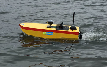 Bathymetric Survey vehicle