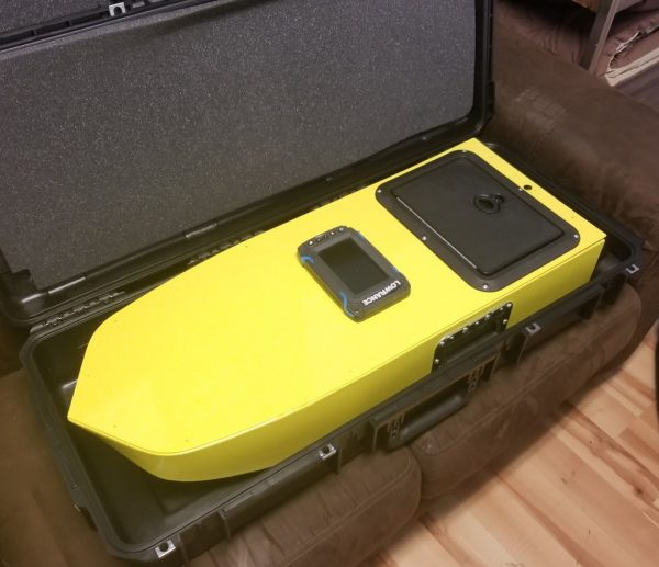SimpleUnmanned SimpleSCAN II in smaller carry case