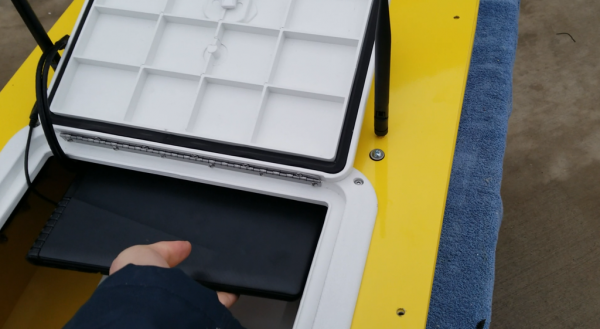 SimpleUnmanned laptop tray for HarborScout